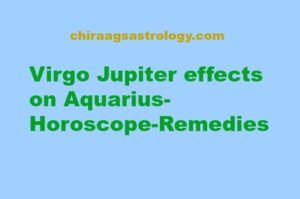Virgo Jupiter effects on Aquarius